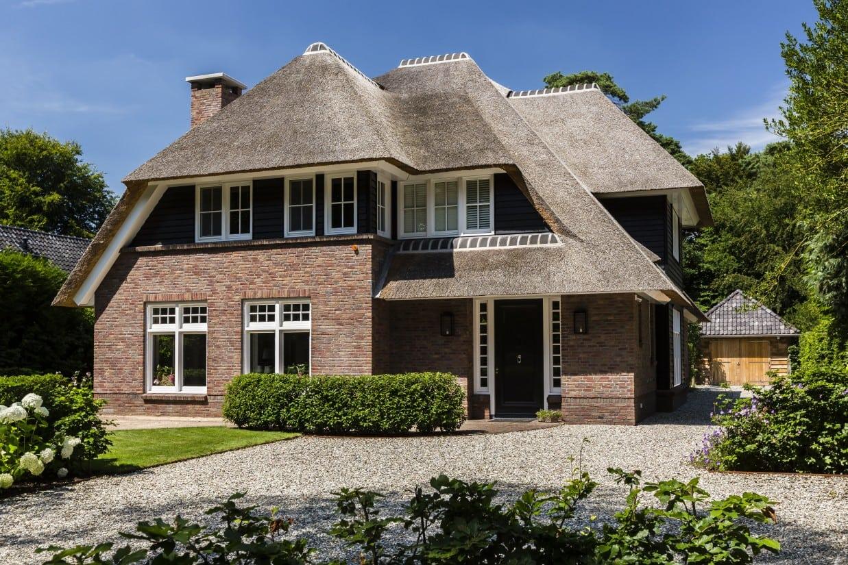 1. Rietgedekte villa bouwen, villa in Bilthoven
