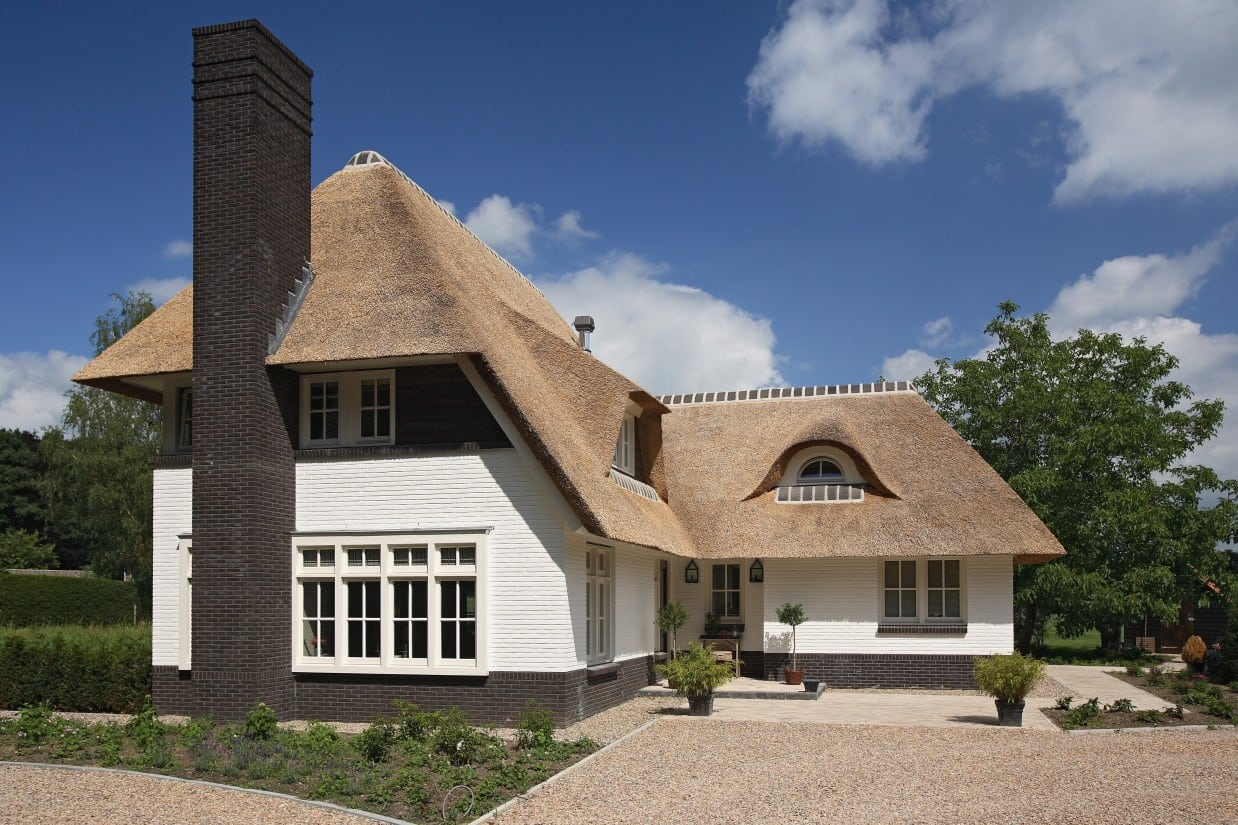 1. Rietgedekte villa bouwen, villa te Lochem