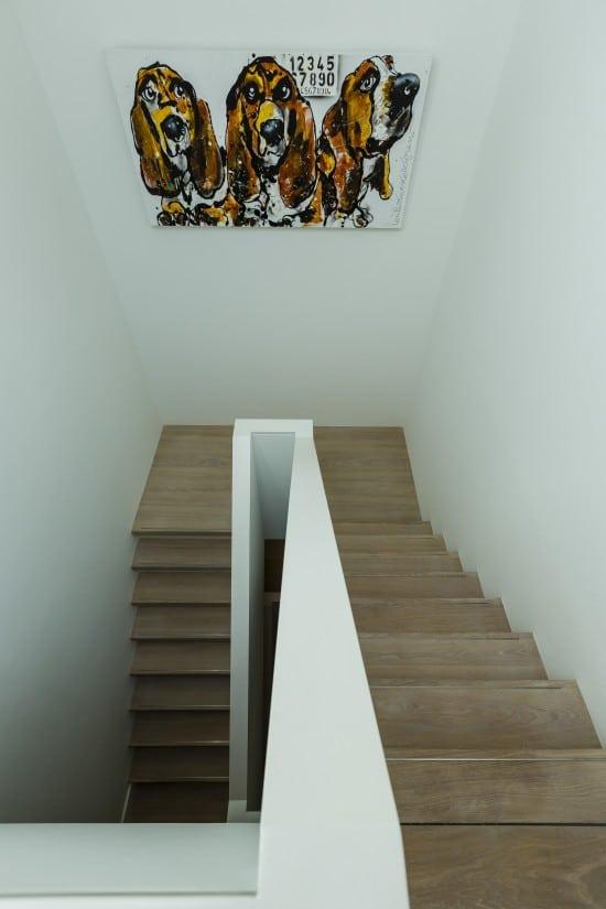 11. Rietgedekte villa bouwen, trappenhuis villa te Zeist