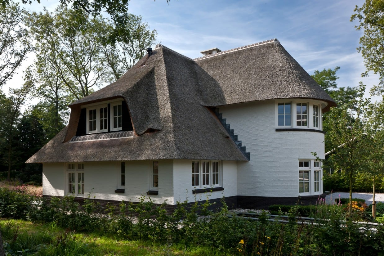12. Rietgedekte villa bouwen, villa in Ugchelen