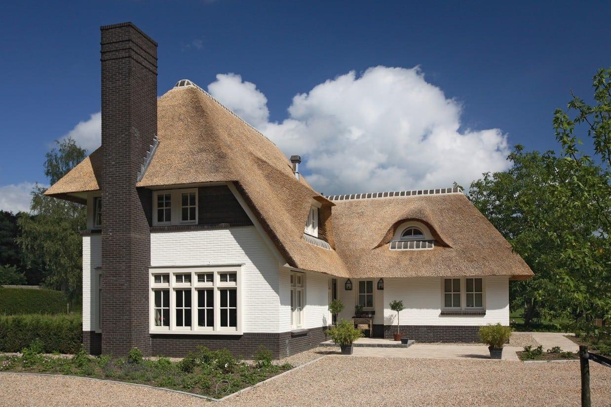 13. Rietgedekte villa bouwen, elke dag een heerlijk welkom bij thuiskomst