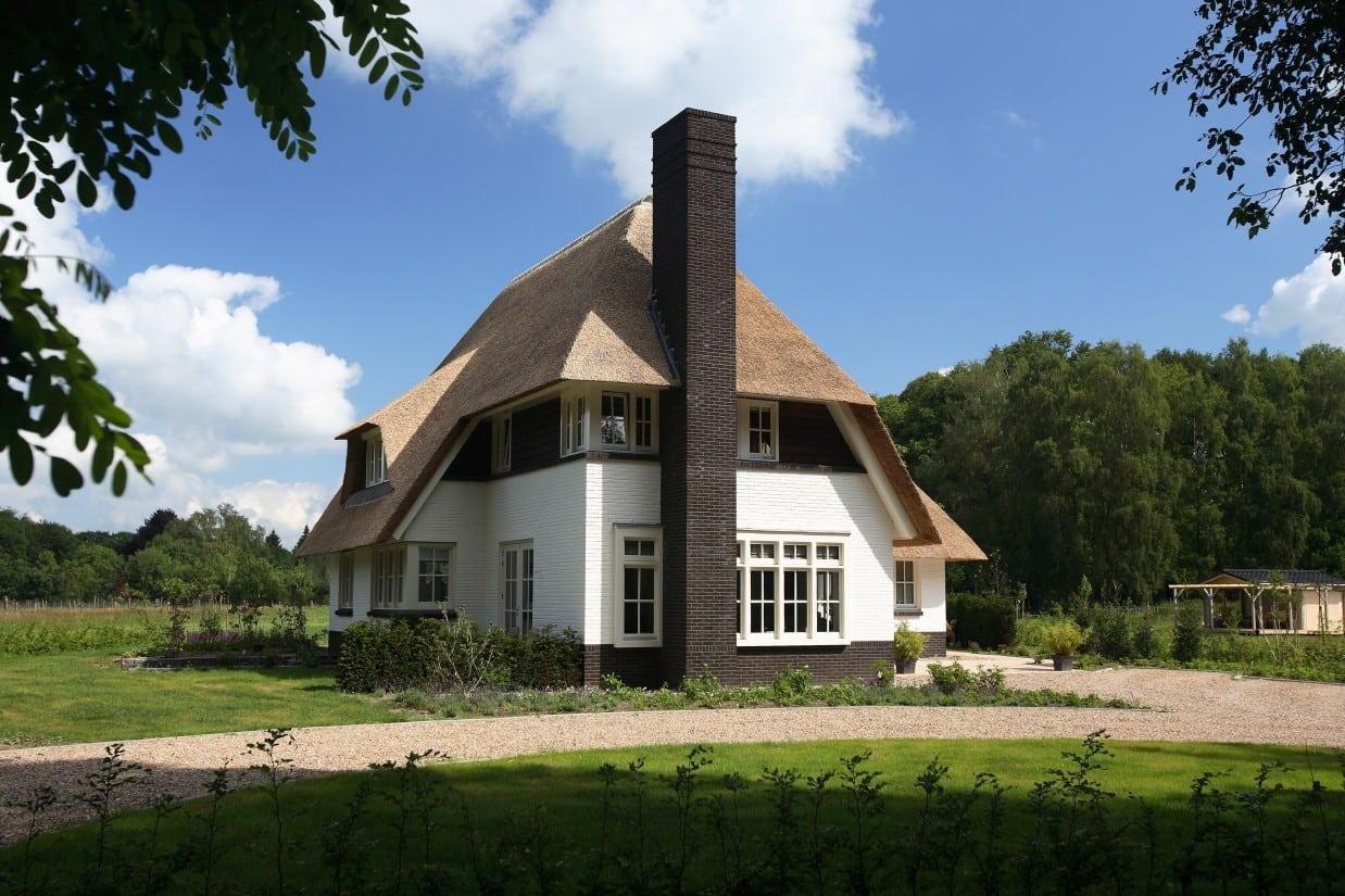 14. Rietgedekte villa bouwen, mooie villa in Lochem