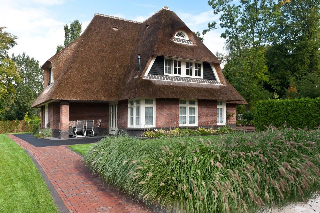 2. Rietgedekte villa bouwen, landhuis in de prachtige omgeving in Leersum