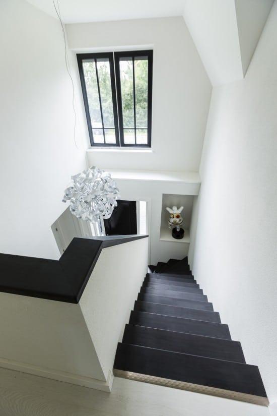 23. Rietgedekte villa bouwen, landhuis trappenhuis