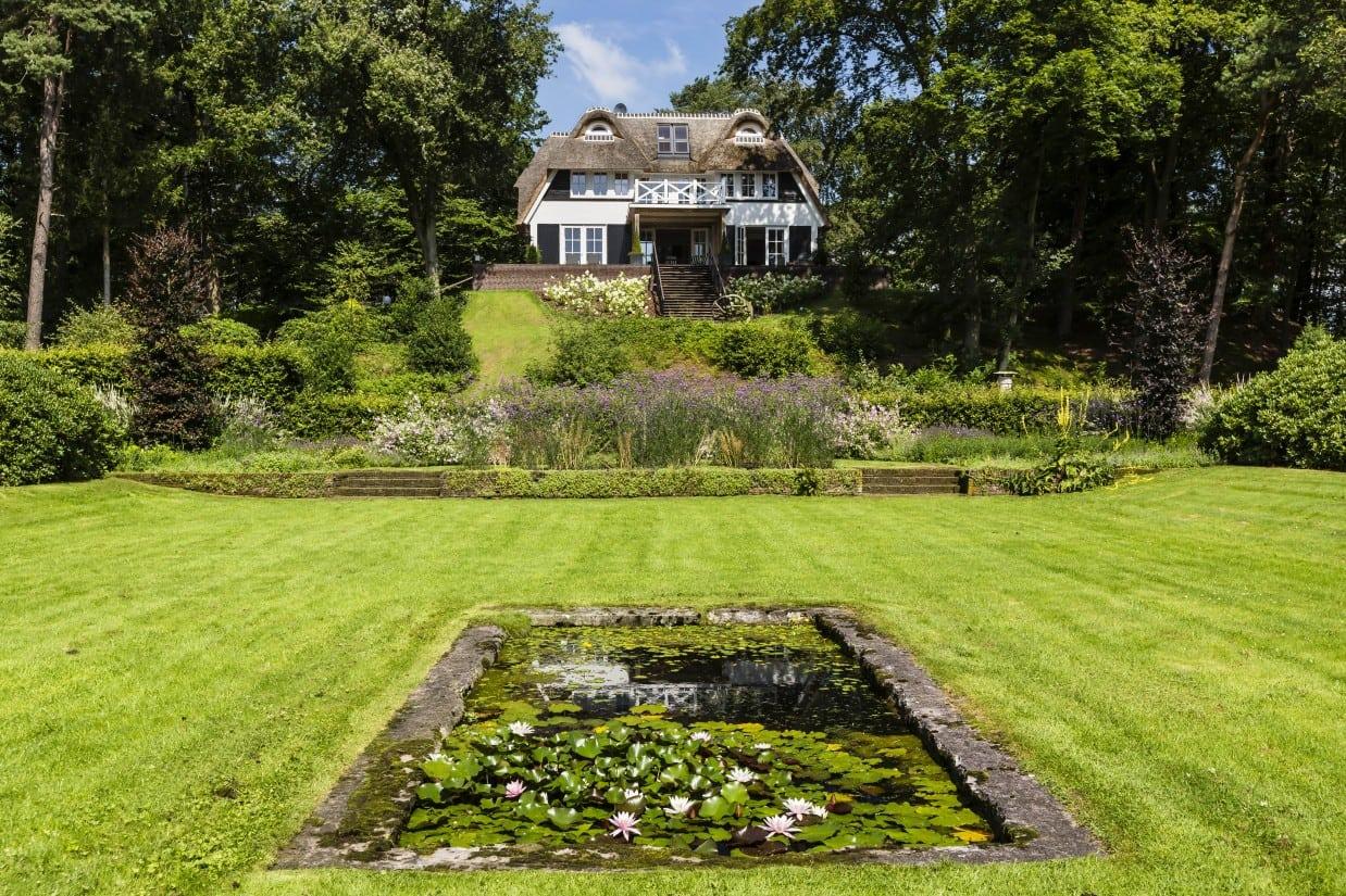 4. Rietgedekte villa bouwen, veel grond met daarop een landhuis in Vierhouten