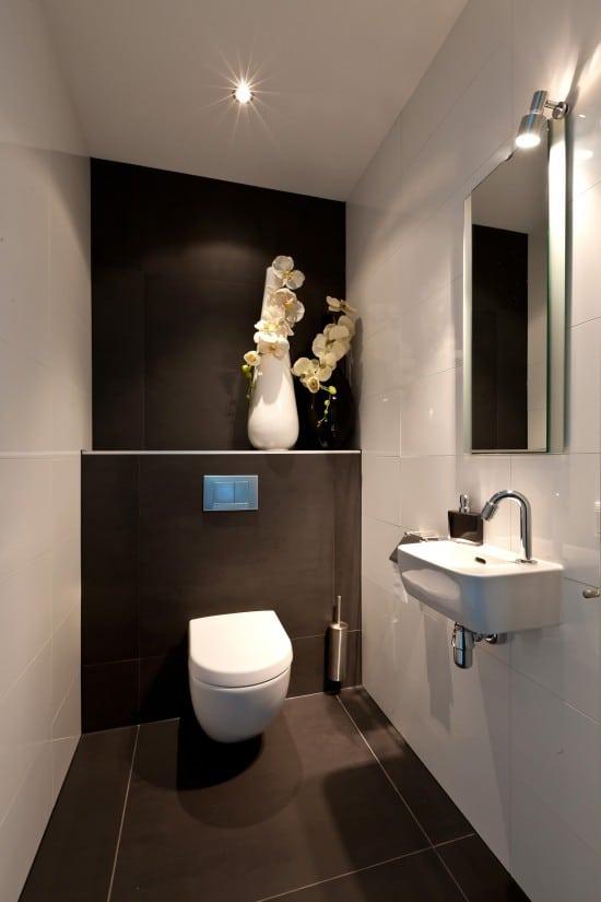 5. Rietgedekte villa bouwen, strak, ruime toilet toepasbaar in huis en villabouw