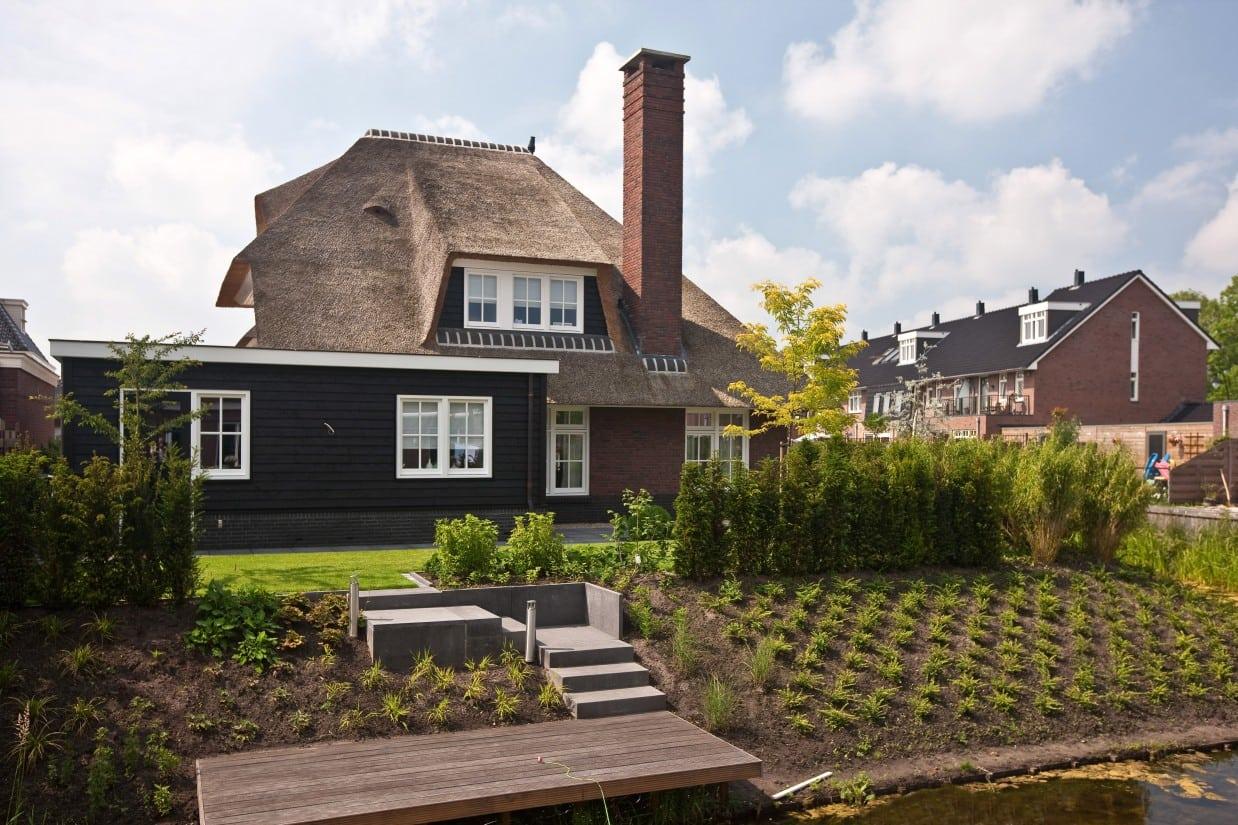 8. Rietgedekte villa bouwen, villabouw in Nederland