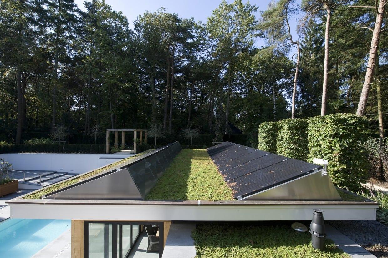 9. Rietgedekte villa bouwen, energiezuinige villa Veluwe