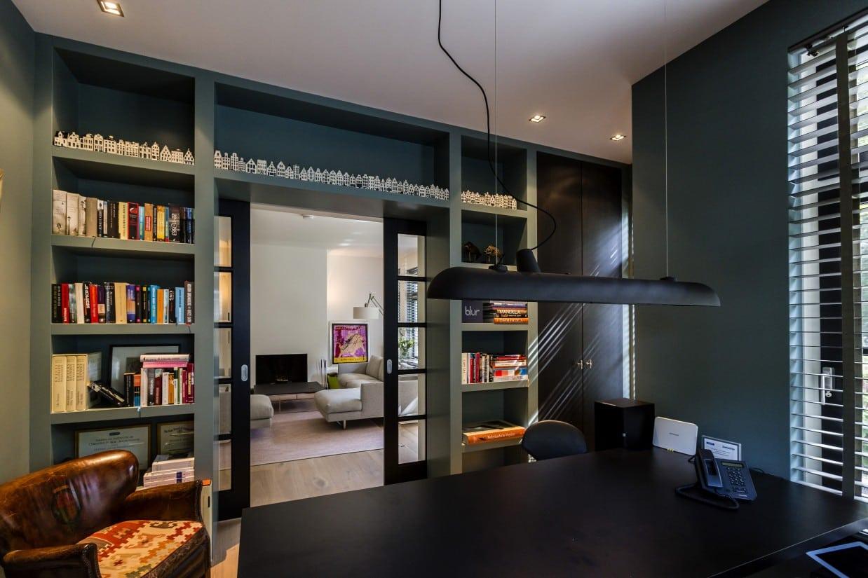 9. Rietgedekte villa bouwen, villa met kantoor aan huis