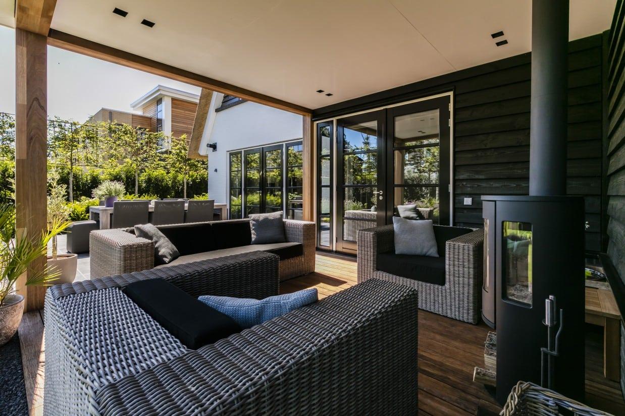 Rietgedekte villa bouwen Hooglanderveen