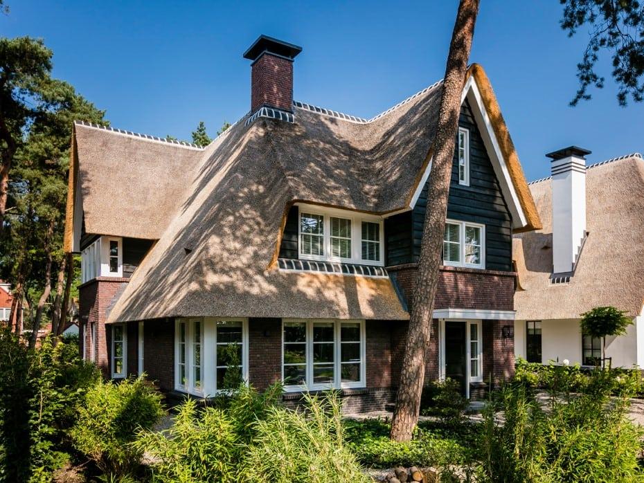 Villa te Zeist rietgedekt op prachtige locatie